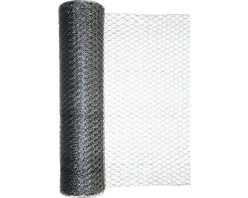 Grillage triple torsion, maillage 25mm, 10x1m, galvanisé