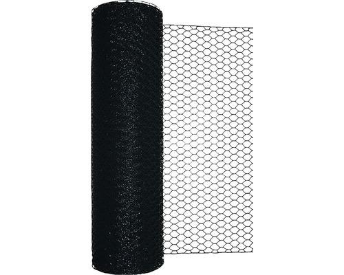 Grillage triple torsion, maillage 25mm, 10x0,5m vert