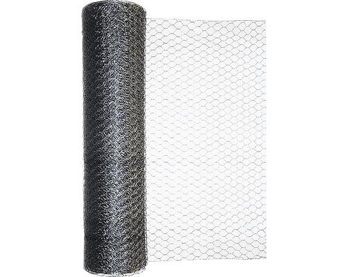 Grillage triple torsion, maillage 25mm, 25x1m, galvanisé