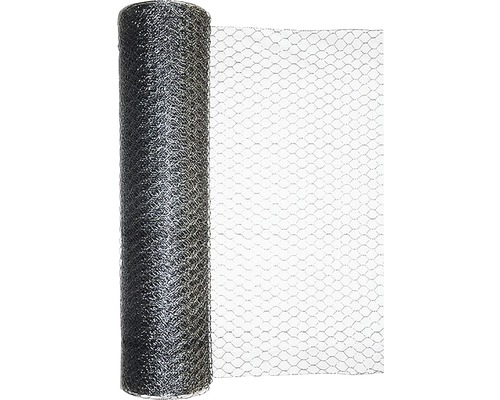 Grillage triple torsion, maillage 13mm, 10x0,5 m, galvanisé