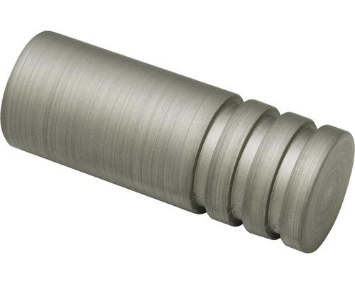 Embout cylindre Kira Ø 19 mm argent