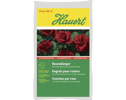 Engrais pour rosiers Hauert 20kg