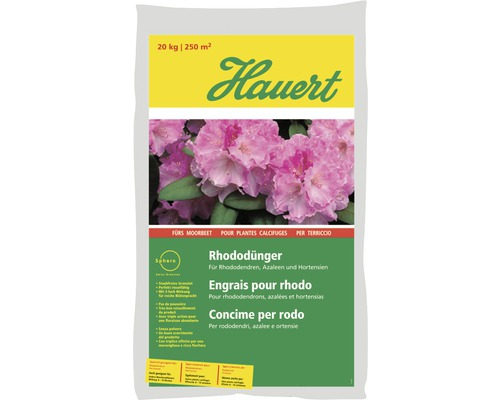 Engrais pour rhododendrons Hauert 20kg