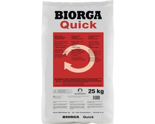Engrais bio pour légumes & fruits Hauert BIORGA Quick 25kg
