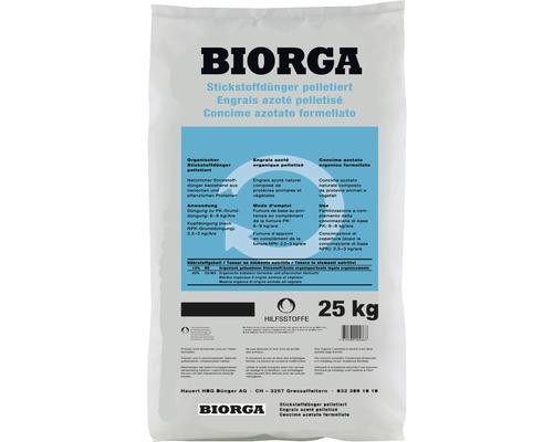 Engrais azoté bio Hauert BIORGA 25kg