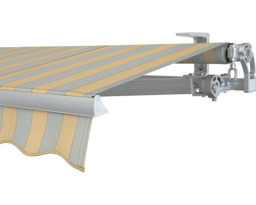Store banne à bras 300x200 cm SOLUNA Concept sans moteur Dessin 6676