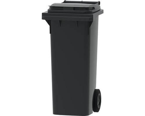Collecteur de déchets et de recyclage à 2roues MGB 80l gris/gris