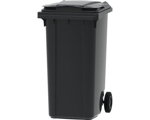 Collecteur de déchets et de recyclage à 2roues MGB 240l SL gris/gris