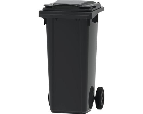 Collecteur de déchets et de recyclage à 2roues MGB 120l SL gris/gris