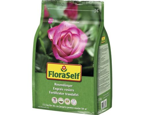 Engrais pour rosiers FloraSelf 2,5kg