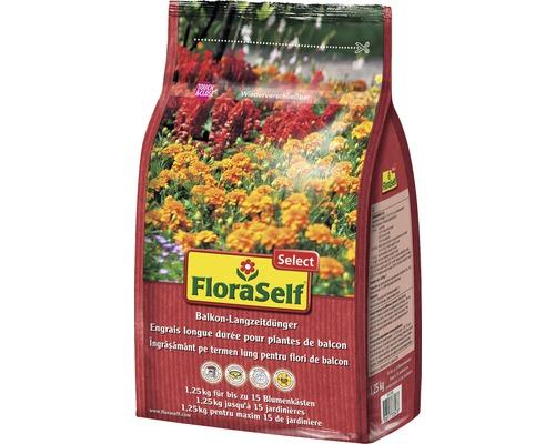 Engrais longue durée pour plantes de balcon FloraSelfSelect 1,25kg