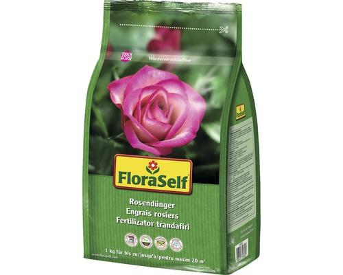 Engrais pour rosiers FloraSelf 1kg
