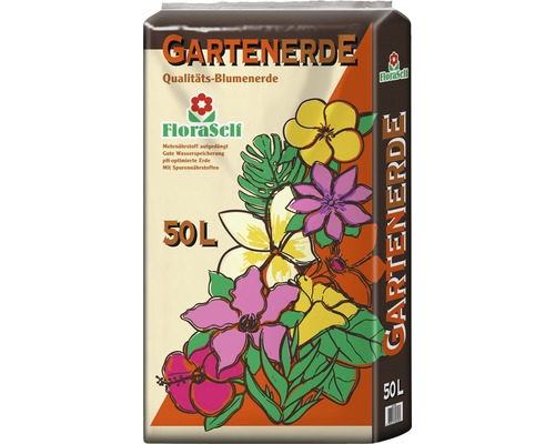 Gartenerde FloraSelf 50 L