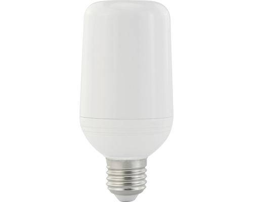 Ampoule décorative à LED, effet flamme E27/2,5W 1400K blanc chaud