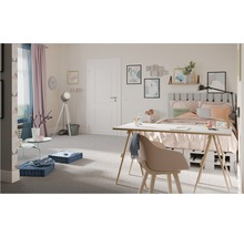 Lampe de table Upstreet monolampe blanc patina/nickel mat 94371-thumb-5