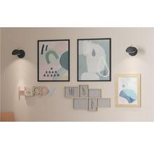 Lampe de table Upstreet monolampe blanc patina/nickel mat 94371-thumb-1