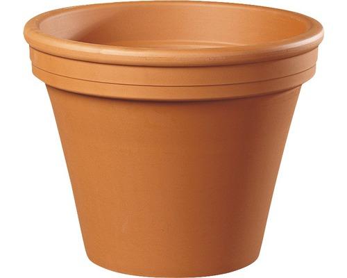 Pot de fleurs Spang argile Ø 9 H 8 cm terracotta