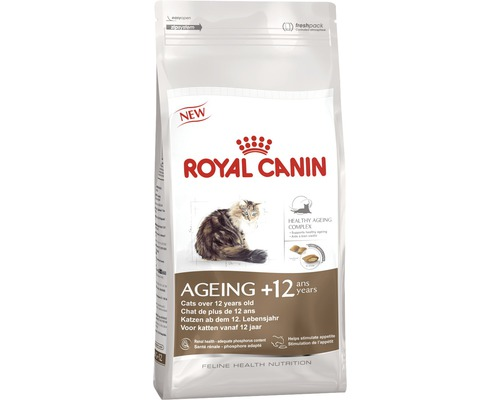 Nourriture pour chats Royal Canin Ageing +12, 4 kg