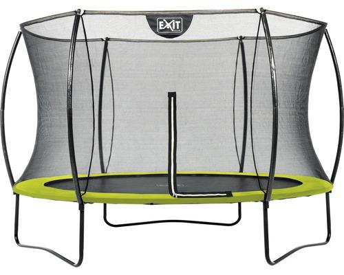 Trampoline EXIT Silhouette 305 + réseau Lime vert