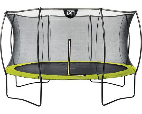 Trampoline EXIT Silhouette avec filet de sécurité Ø 366 cm lime
