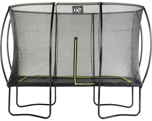 Trampoline EXIT Silhouette avec filet de sécurité 214x305 cm noir