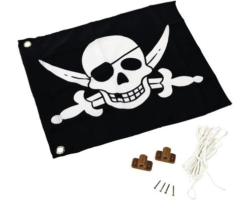 Drapeau pirates AKUBI 55x45 cm