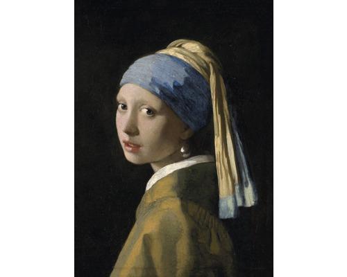 Tableau sur toile Jeune Fille à la Perle 70x100 cm