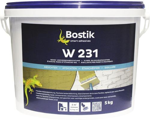 Joint pour murs et sols Bostik W 231 5 kg