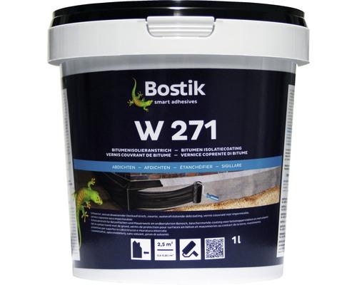Vernis isolant bitumineux Bostik W 271 1 l