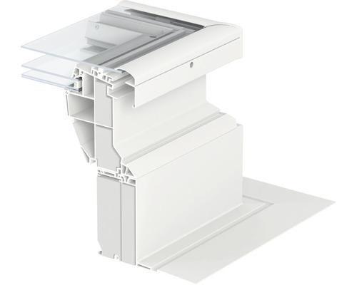 Réhausse isolée 15 cm VELUX ZCE 0015 pour spot lumière du jour 150x150 cm