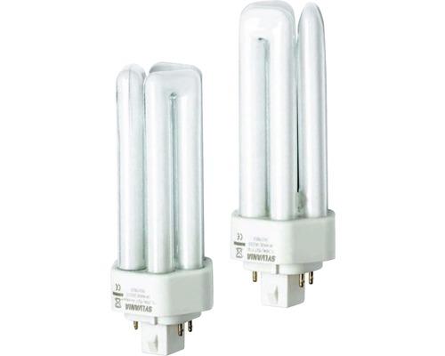 Ampoule à économie d'énergie à intensité lumineuse variable G24q/18W 1210 lm 4000 K blanc neutre 840-0