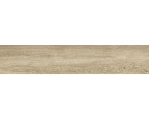 Feinsteinzeug Wand- und Bodenfliese Limewood Roble 23,3 x 120 cm