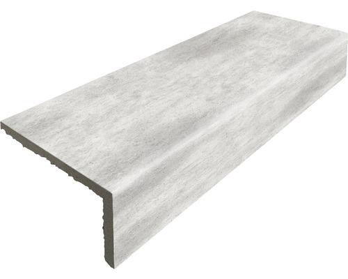 Barre longitudinale grès cérame Taurus gris clair 31x10,5cm
