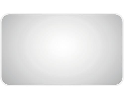 Miroir éclairé LED DSK Silver Juno 100x70cm IP 24 (protégé contre les projections d''eau)