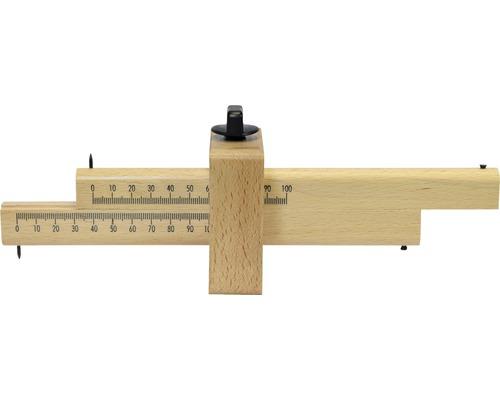 Streichmaß Holz 30 cm