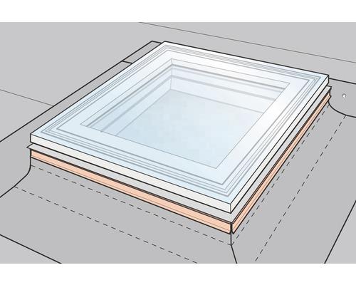 Kit Feuillard De Fixation Velux Zzz210 Pour Fenêtre Coupole Pour