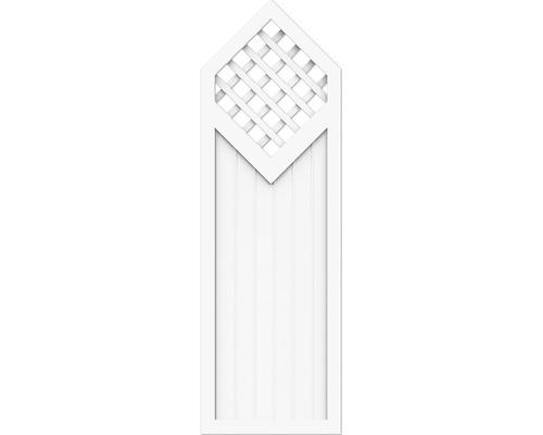 Élément partiel BasicLine type D 70x215/180 cm, blanc