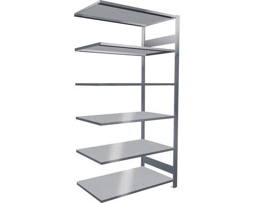 Étagère de bureau étagère complémentaire système d''emboîtement MULTIplus150 2000x1000x600 mm, galvanisée capacité de charge 1400 kg
