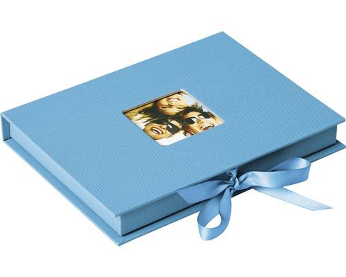 Boîte de rangement Fun bleu océan 20x15x3 cm