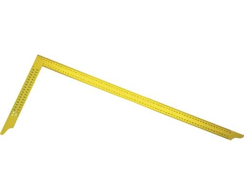 Zimmermannswinkel Haromac 800 mm mit Loch gelb