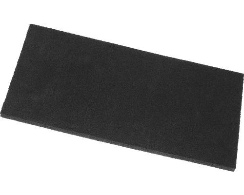 Zellkautschukplatte schwarz 140x280 mm