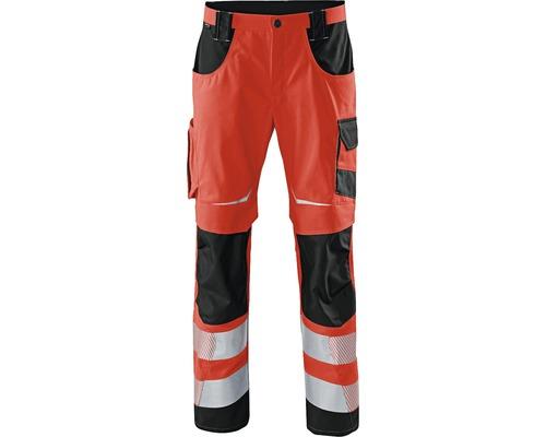 Pantalon de travail rouge/noir taille 102