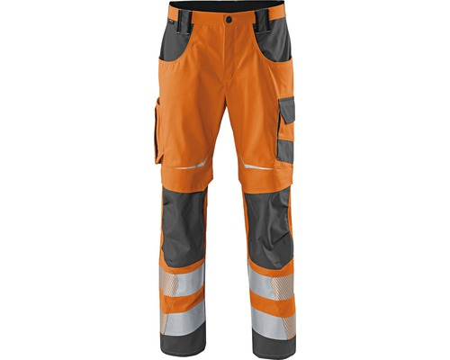Pantalon de travail orange/anthracite taille 106