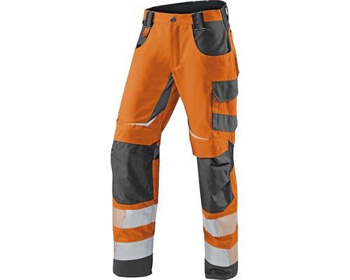 Pantalon de travail été orange/anthracite taille 102