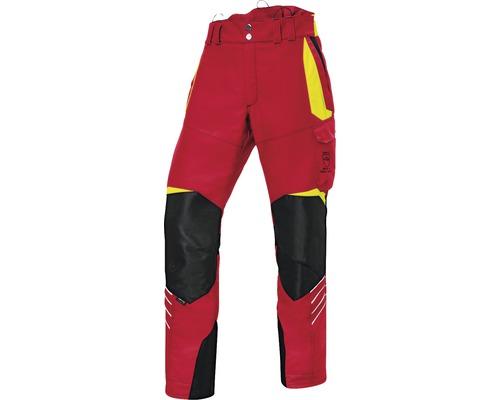 Pantalon de forestier rouge/jaune taille XXXL-78