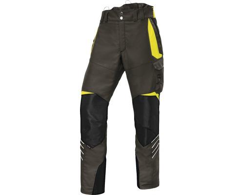 Pantalon de forestier olive/jaune taille XXXL-78