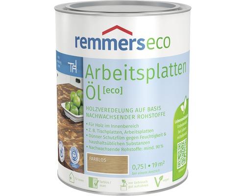 Huile pour plans de travail Remmers eco incolore 750 ml