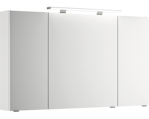 Armoire de toilette pelipal Xpressline 4010 3 portes blanc IP 20 120 cm
