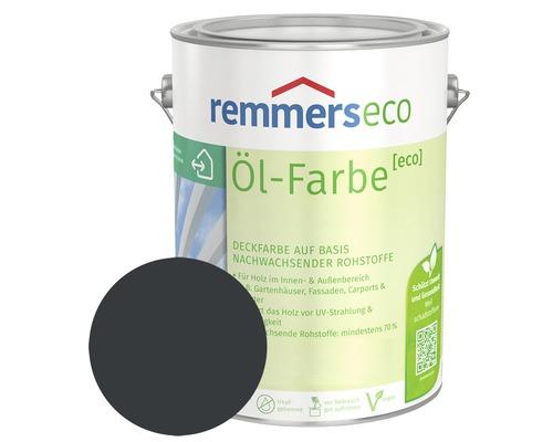 Remmers eco Öl-Farbe Holzfarbe RAL 7016 anthrazitgrau 750 ml