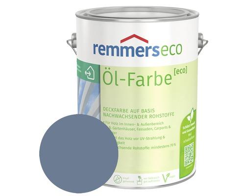 Remmers eco Öl-Farbe Holzfarbe RAL 5014 taubenblau 750 ml